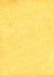 Altes gelb gefärbtes Papier Lizenzfreie Stockbilder