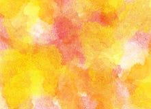 Altes gelbes Papier auf dunklem Hintergrund Stockfoto