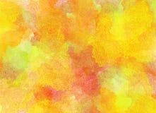 Altes gelbes Papier auf dunklem Hintergrund Lizenzfreies Stockfoto