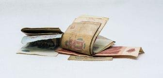 Altes Geld Stockfotografie