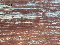 Altes gemalt auf Holz Stockfoto