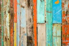 Altes gemaltes Holz Lizenzfreie Stockfotografie