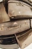 Altes Gepäck Stockbild