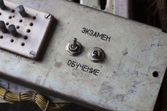 Altes Gerät für das Spiel Stockbilder