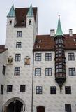 Altes Gericht in M?nchen, Deutschland Ehemaliger Wohnsitz von Louis IV lizenzfreie stockbilder