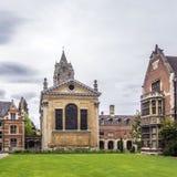 Altes Gericht von Pembroke College in der Universität von Cambridge Stockfotografie