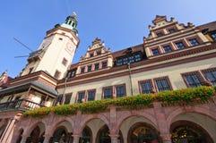altes Germany Leipzig rathaus zdjęcie royalty free