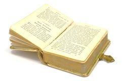 Altes Geschichtsbuch Stockfotos