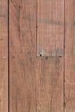 Altes gestreiftes Holz stockfoto