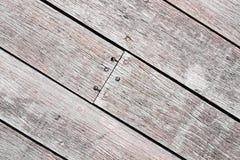 Altes gestreiftes Holz lizenzfreies stockfoto
