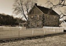Altes Gettysburg-Bauernhaus Lizenzfreie Stockbilder