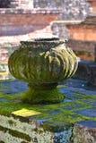 Altes Glas für verzieren und anderes stockfotografie