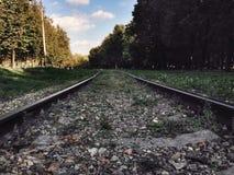 Altes Gleis Stockbilder