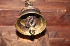 Altes Glockenhängen Stockbild