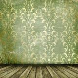 Altes Gold gestaltet viktorianische Art Stockbilder