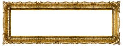 Altes Goldbilderrahmen Stockfotos