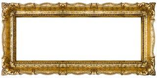 Altes Goldbilderrahmen Lizenzfreies Stockbild