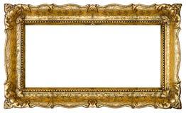 Altes Goldbilderrahmen Lizenzfreie Stockfotos