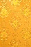 Altes Goldtapete Stockbilder