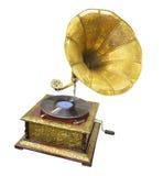 Altes Grammophon Stockbild