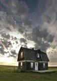 Altes Grasland-Haus Lizenzfreie Stockfotografie