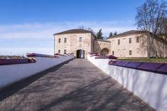 Altes Grodno-Schloss Stockbild