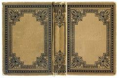 Altes grunged, beflecktes Buch lizenzfreie stockfotografie