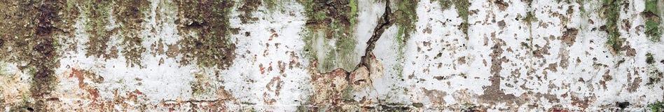 Altes grungy Betonmauerbeschaffenheits-Hintergrundfragment Stockfotografie
