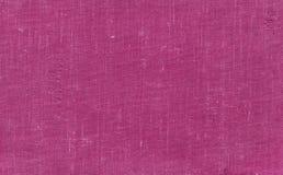 Altes grungy Segeltuchmuster mit schmutziger Stelle in der rosa Farbe lizenzfreie stockfotografie