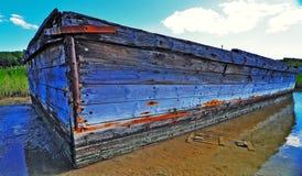 Altes hölzernes Boot   Stockbilder