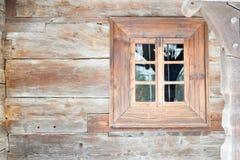 Altes hölzernes Fenster Stockfoto