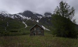 Altes hölzernes Gebäude Lizenzfreies Stockfoto