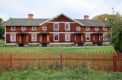 Altes hölzernes Haus Lizenzfreie Stockbilder