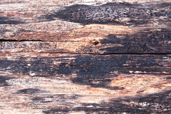 Altes hölzernes Muster und Oberfläche Lizenzfreies Stockfoto