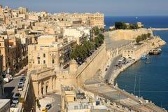 Altes Hafen- und Victoria-Gatter, Valletta, Malta. Stockfoto