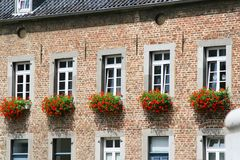 Altes Haus in Aachen Stockbilder