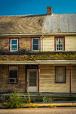Altes Haus in Abbottstown, Pennsylvania Lizenzfreie Stockfotografie