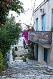 Altes Haus in Alonissos stockbild