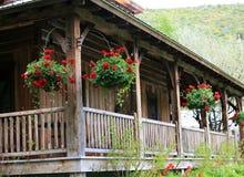 Altes Haus auf Ranch lizenzfreie stockfotografie