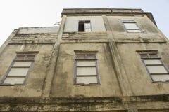 Altes Haus in der alten Stadt Stockbilder