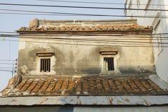 Altes Haus in der alten Stadt Stockfotografie