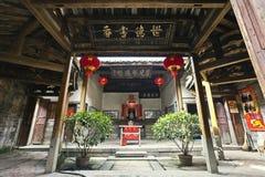 Altes Haus der chinesischen Art stockfotos