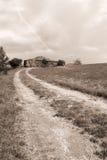 Altes Haus in der Landschaft Lizenzfreies Stockfoto