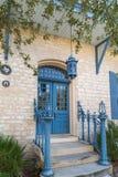 Altes Haus in der Mitte von Austin Texas Stockfotos
