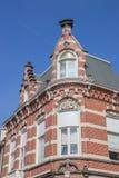 Altes Haus in der Mitte von Winschoten stockbild
