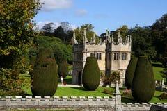 altes Haus des Landes von Lanhydrock, Bodmin, Großbritannien Stockbilder