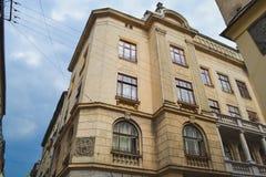 Altes Haus, errichtend Lizenzfreie Stockfotografie