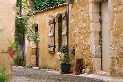 Altes Haus in Frankreich lizenzfreies stockfoto