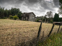 Altes Haus in Frutillar Stockfoto