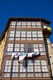 Altes Haus in IIanes, Asturien Nördlich von Spanien Stockfotografie